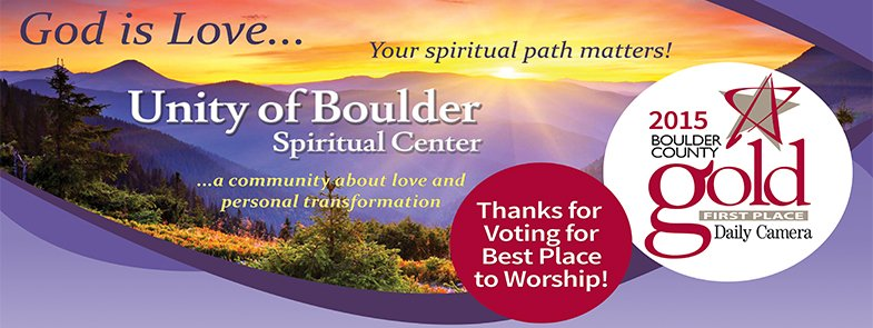 Unity of Boulder - Best Place for Worship 2015 - HS