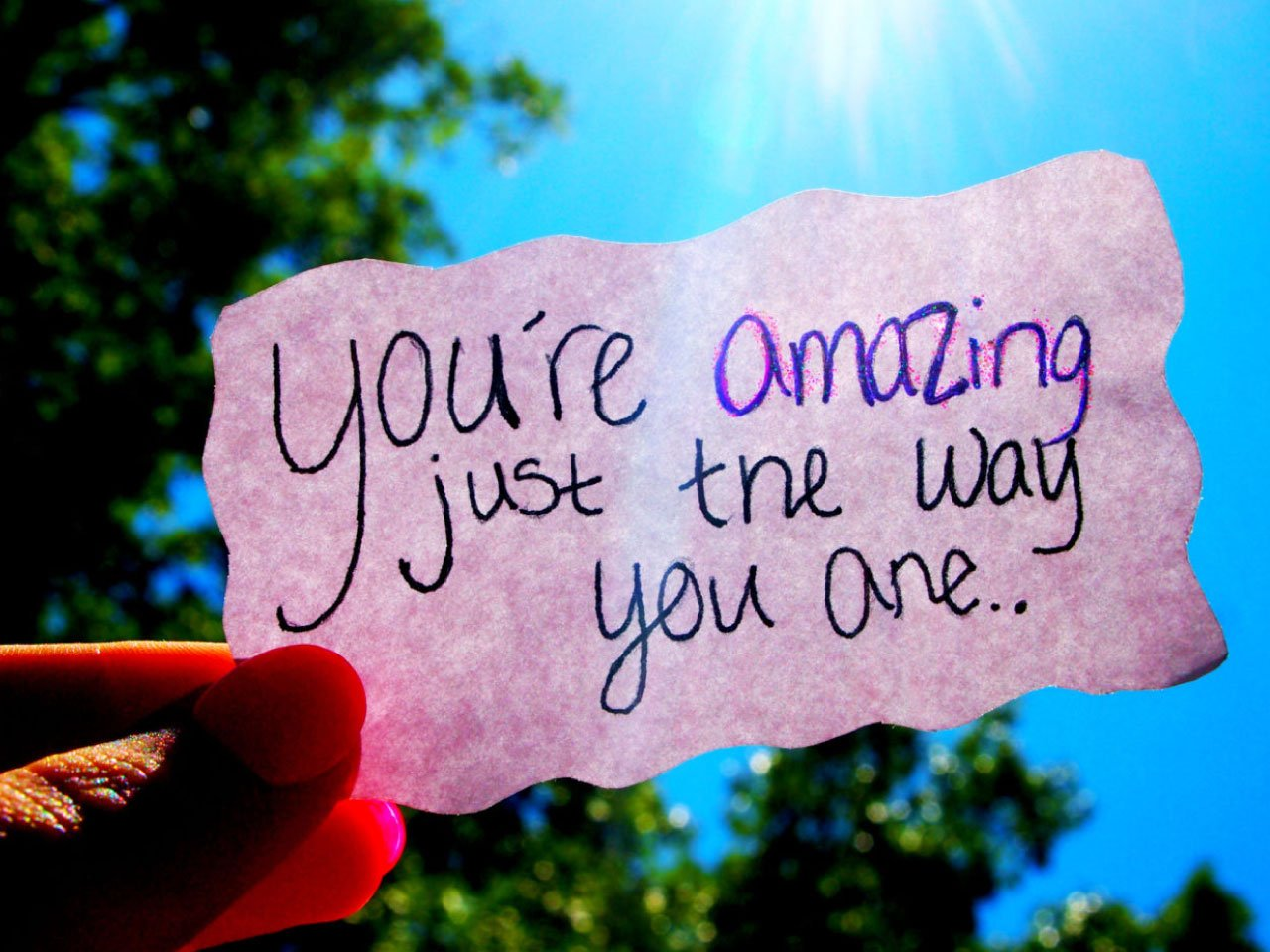 you're-amazing-just-the-way-you-are