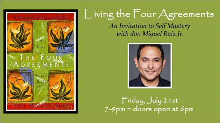 Workshop With Don Miguel Ruiz Jr Unity Of Boulder Spiritual Center